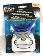 NEW Pro+ Jaw-Joint Protector Mouth Guard, Brain Pad, Junior, 11&Under, Blue