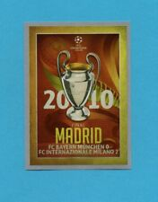 TOPPS-CHAMPIONS 2015-2016-Figurina n.602-FINALE-2010-MADRID-NEW