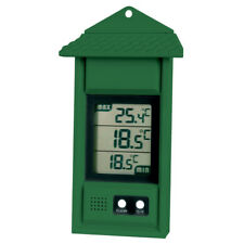 Green Max Min Digital Thermometer - Ideal for Greenhouse or Conservatories