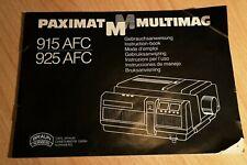 CARL BRAUN Paximat Multimag 915 AFC Lampe