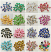 NEW 10PCS 16MM Mini Glass Bottles with Stars Pendant Ornaments Jewelry Making