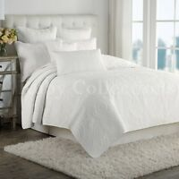 Vintage Patchwork Cotton Quilt Bedspread Coverlet Throw Rug-3pcs Queen King Size