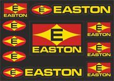 EASTON Bicycle Frame Decal Stickers Graphic Road Adhesive Set Vinyl Sheet 10 Pcs