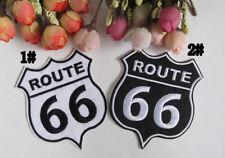 Route 66 US PATCH Aufbügler Aufnäher Abzeichen Bügelbild Patch Cap Route66 Logo