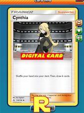 2x Cynthia - for Pokemon TCG Online ( ptcgo in Game Card)