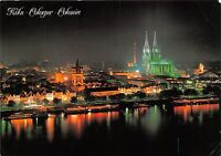 B47230 Koln Rhine Panorama by night    germany