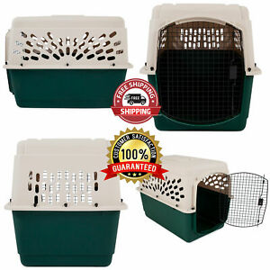 """Portable 40"""" Dog Crate Kennel XL Large Dogs Travel Pet Carrier Bed Home Secure"""