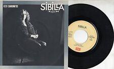 SIBILLA raro disco 45 giri MADE in ITALY Oppio SANREMO 1983 FRANCO BATTIATO