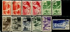 USSR RUSSIA #C58-C62  #C64-C67 Stamps Postage Collection CTO OG MLH