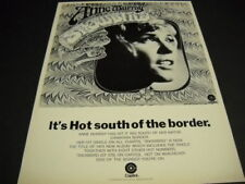 ANNE MURRAY It's Hot South Of The Border with SNOWBIRD 1970 Promo Poster Ad