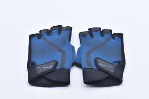 Men's Nike Extreme Fitness Gloves, Blue Force / Black Thunderstorm, Large