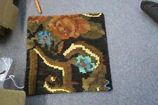 "Turkish Anatolian Kilim Pillow Cushion Hand Woven Wool 18"" x 18"" Zipper Back 3"