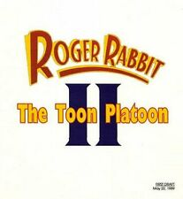 Roger Rabbit 2 The Toon Platoon Script Rare Unfilmed PDF