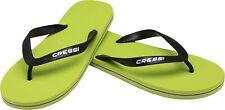 Cressi Beach Flip Flops Lime/black 43/44