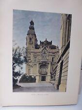 Monaco : Gravure 19° in folio couleur /LE CASINO DE MONTE-CARLO