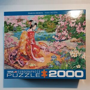 Beautiful 2000 Piece Eurographics Puzzle