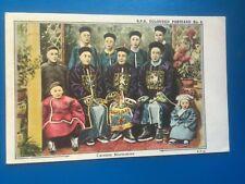 CHINESE MANDARINS - NICE EARLY ART POSTCARD!
