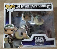 Funko POP! POP Star Wars The Empire Strikes Back Luke with Tauntaun #366
