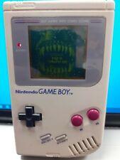 Nintendo Game Boy Grey Handheld System - Original Grey with 3 games