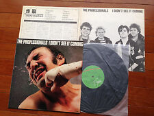 The Professionals I Didn't See It Coming JAPAN LP RARE! steve jones sex pistols