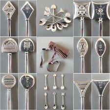 Hermes Touareg AG 925 Touareg 6 Moka Spoons, New!