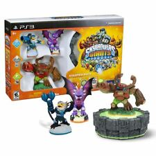 New PS3 Skylanders Giants Starter Pack Jet-Vac Cynder Tree Rex Figures Official