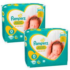 2x PAMPERS Premium Protection NOUVEAU bébé 0 Couche-culotte 1,5 - 2,5 kg
