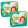 2x Pampers Premium Protection New Baby 0 Windeln 1,5 - 2,5 kg Diapers 24 Stück