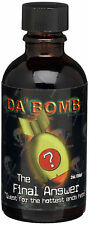Da' Bomb The Final Answer Hot Sauce, 2-Ounce