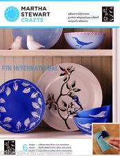 Martha Stewart Birds & Branches ~ Adhesive Silkscreen Stencils #33240 Leaf, Tree