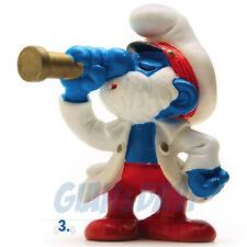 PUFFO PUFFI SMURF SMURFS SCHTROUMPF 2.0141 20141 Papa Smurf Captain Capitano 3A