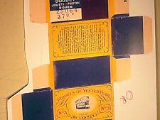 REPLIQUE  BOITE TRAMWAY LONDON 1907/ MATCHBOX 1958