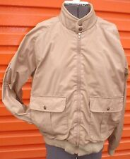 1970's Levis USA Made Tan Poly Cotton with Quilted Wool Lining Men's Medium