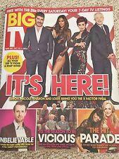 BIG TV Magazine 2016 NICOLE SCHERZINGER Derek Jacobi DANNY MILLER Richard Jones