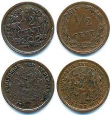 Niederlande, Lot v. 2 Münzen ab 1903