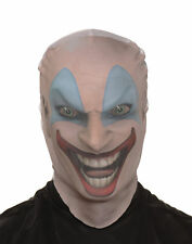 Killer Clown Skin Mask Adult Male Halloween Costume Accessories - One Size