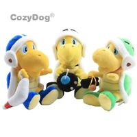 "Super Mario Bros Bomb Hammer Bro Koopa 8"" Turtle Plush Toy Stuffed Animal Doll"