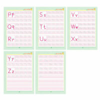 2 Pcs English Alphabet Letter Writing Practice Book English Groove Copybook