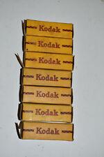 Lot of 7 Rolls of Vintage Film, EXPIRED 1950-51, Kodak Verichrome V616, NOS