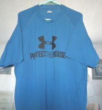 Under Armour Mens T-Shirt Protect This House Short Sleeve Polyester Size XL