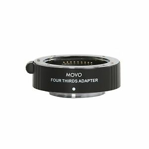 Movo AF Adapter Olympus PEN/Panasonic/M43 Micro Four-Thirds Camera to 4/3 Lens