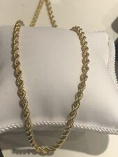 585 GOLD Kette Kordellkette 8,4Gramm,55cm Halskette,neu+Etikett.Gelbgold