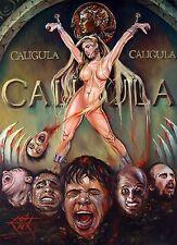 Caligola. a4 ORIGINALE stampa Rick in Melton