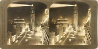 USA New York City Broadway Election Night Photo Stereo Vintage Argentique PL62L9