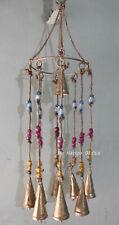 Handmade Hanging Bells Windchime Metal Craft Outdoor Patio Decor Mobiles Indian