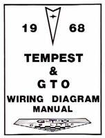 PONTIAC 1968 Tempest & GTO Wiring Diagram 68   eBayeBay