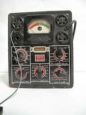 RARE VINTAGE TRIPLET 1212 TUBE TESTER - POWERS UP - AS-IS