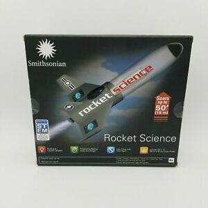 Smithsonian ROCKET SCIENCE Kit~Build & Launch~Reusable Stem~Kids Toy~ BRAND NEW!