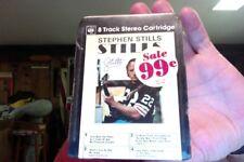 Stephen Stills- Stills- new/sealed 8 Track tape w/pic sleeve- UK import- rare?