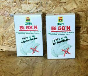 2 x COMPO Bi 58 N 30ml Insektenvernichter Insektizid Bi 58 gegen Blattläuse